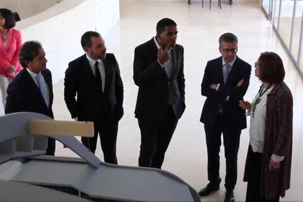 Commissioner Carlos Moedas Meets PASSARO at ISQ